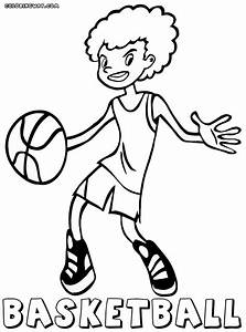 Basketball Player Coloring Pages Coloring Pages To