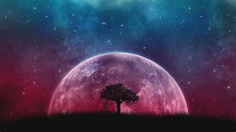 Moon Landscape Wallpapers