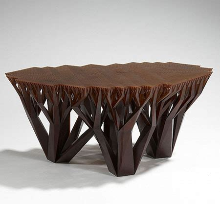 The Unique And Stylish Fractalmgx Coffee Table Creates A