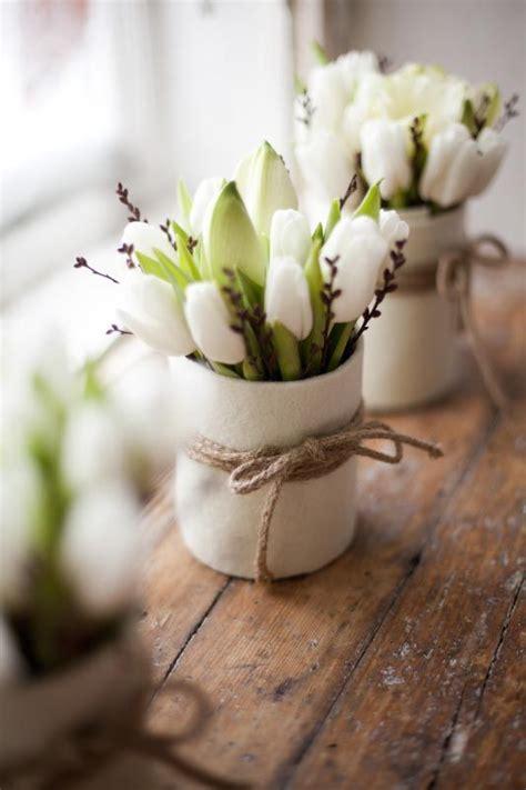flower arrangements  spring home decor digsdigs