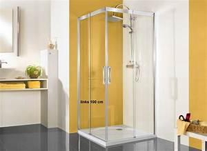 Schiebetür 80 Cm : duschkabine eckeinstieg schiebet r 100 x 80 cm 220 cm hoch echtglas ~ Markanthonyermac.com Haus und Dekorationen