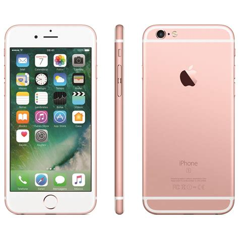 iphone de iphone 6s apple 64gb e tela 4 7 hd 3d touch ios
