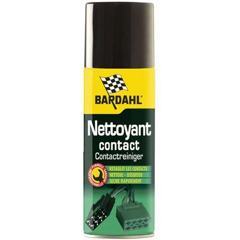 nettoyant siege auto nettoyant contact bardahl 200 ml feu vert