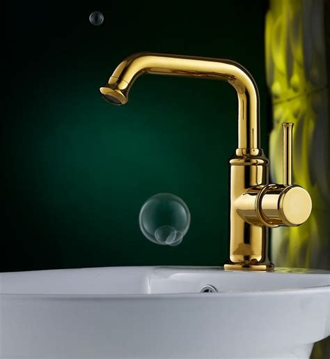 luxury bathroom faucets luxury polished brass bathroom faucet with single handle