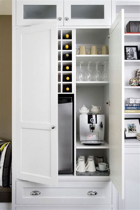 built in coffee bar 11 genius ways to diy a coffee bar at home eatwell101 4986