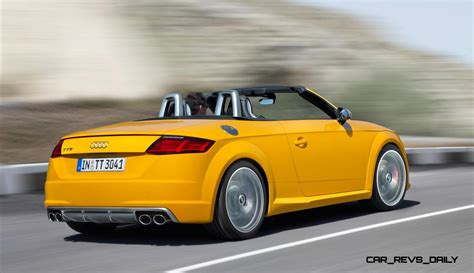 2015 Audi Tt And Tts Roadster Revealed Before Paris Show