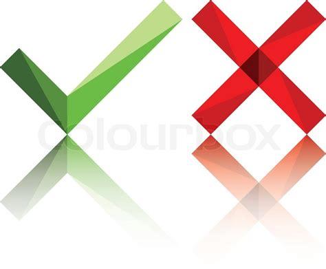 wahr oder falsch kostenlos wahr falsch oder ja kein symbol vektorgrafik colourbox