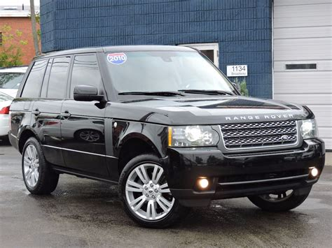 Used 2010 Land Rover Range Rover Hse Lux At Auto House Usa
