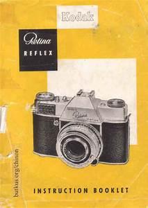 Kodak Retina Reflex  Retina Reflex Guide  Instruction