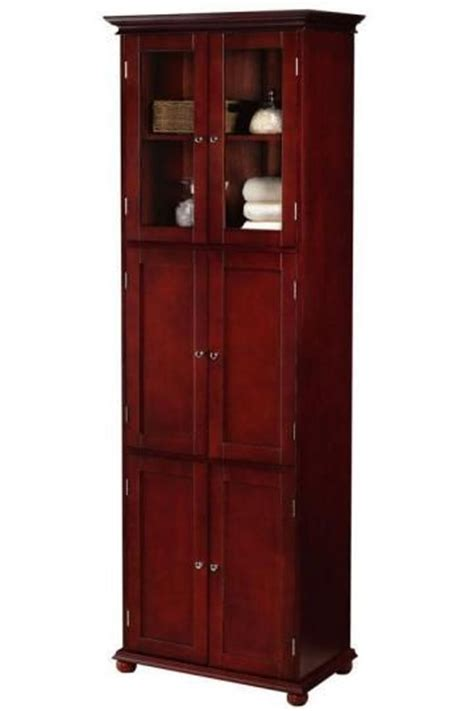 Hton Bay Cabinet Doors Only by Hton Bay 6 Door Cabinet Linen Cabinets