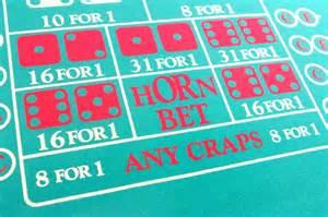 Horn Bet Craps Table