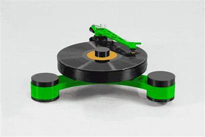 Giradischi Lenco Modulare Kickstarter Dday Stampato Idea