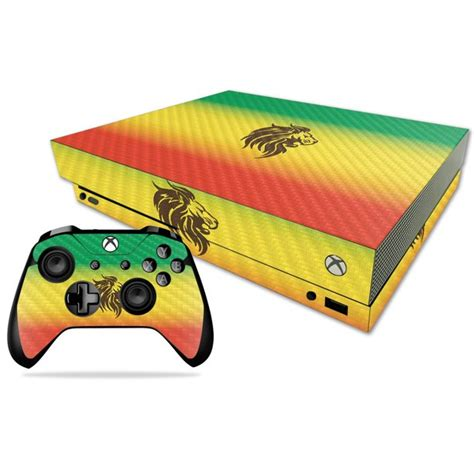 Weed Skin For Microsoft Xbox One X Protective Durable