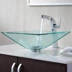 kitchen faucets australia kraus c gvs 901 19mm 15100ch clear aquamarine glass vessel