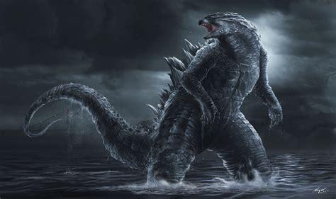 Rinnengan Sasuke Vs Godzilla 2014