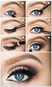 Maquillage Yeux Tuto : maquillage noir yeux tuto ~ Nature-et-papiers.com Idées de Décoration