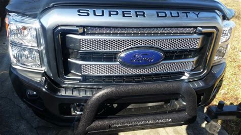 rough country led bar grill kit installedreview pics