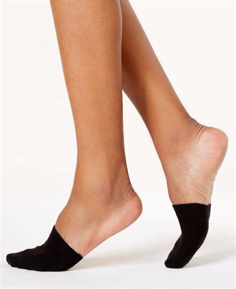 toe toppers lyst hue women 39 s toe topper socks in black