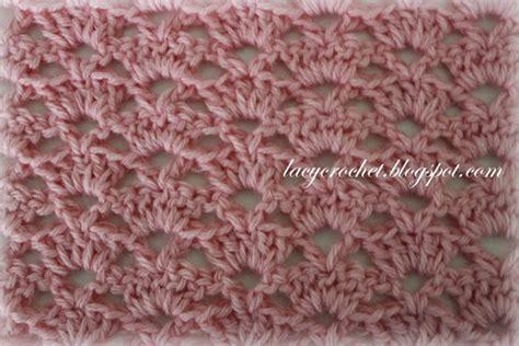shell stitch crochet lacy crochet crochet stitch patterns