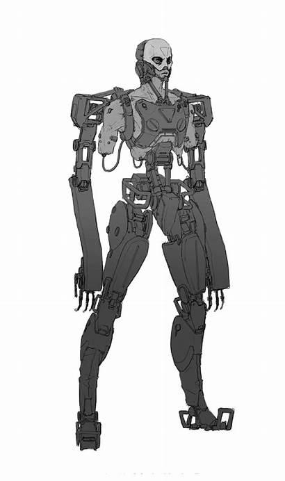 Japan 2202 Neo Robot Character Giphy Cyberpunk