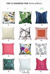my top 12 sources for great throw pillows With best place to shop for pillows