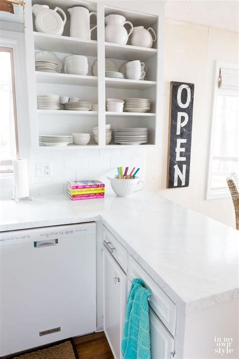 Painting Kitchen Countertops To Look Like Carrara Marble