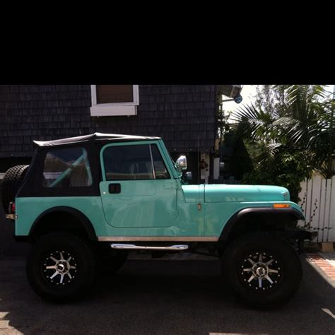 turquoise jeep cj i just need this