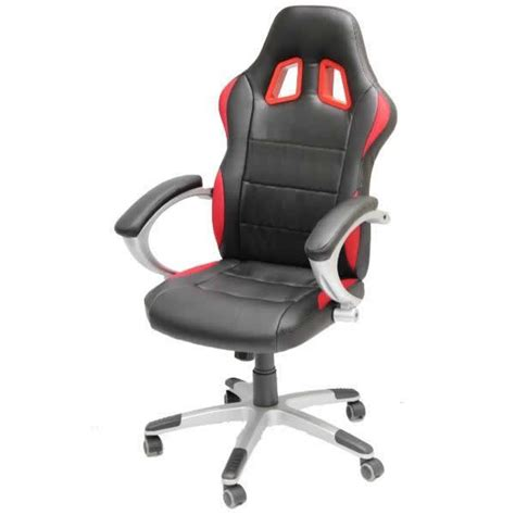 black car seat office computer chair sports