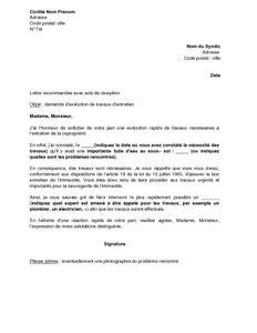 modele lettre degrevement fuite eau modele lettre fuite d eau contrat de travail 2018