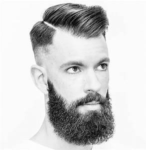 Dégradé Barbe Homme : coupe de cheveux homme coupe hispter coiffure pompadour d grad homme undercut barbe retro ~ Melissatoandfro.com Idées de Décoration