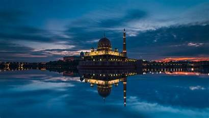 Indonesia Mosque Malaysia Putra Wallpapers Jakarta Putrajaya