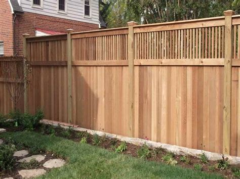 Better Decks Fences by Privacy Fence Ideas Home Interior Design