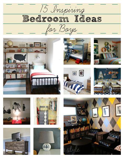 15 Inspiring Bedroom Ideas For Boys  Addicted 2 Diy