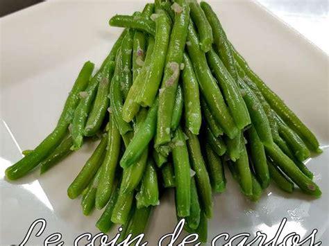 cuisiner des haricots beurre recettes de haricots et beurre