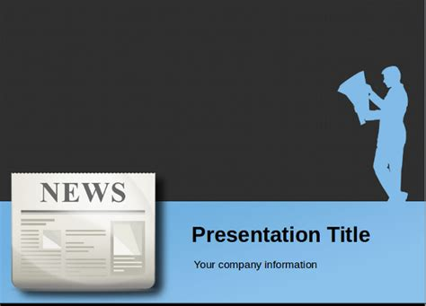 news powerpoint template  highest quality powerpoint