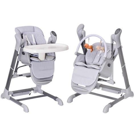 chaise haute 3 en 1 pas cher transat bebe evolutif chaise haute achat vente transat