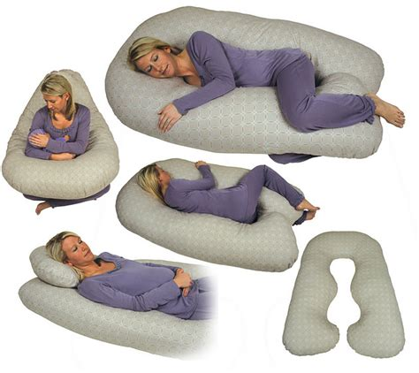 Back N Belly Chic Contoured Body Pillow By Leachco