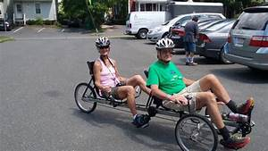 We Ride A Recumbent Trike Tandem