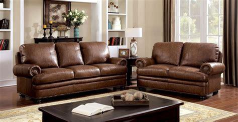 rheinhardt top grain leather living room set