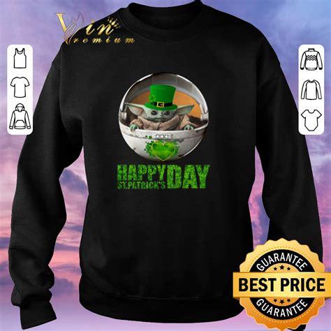 Awesome Baby Yoda Happy Saint Patrick's Day Star Wars ...