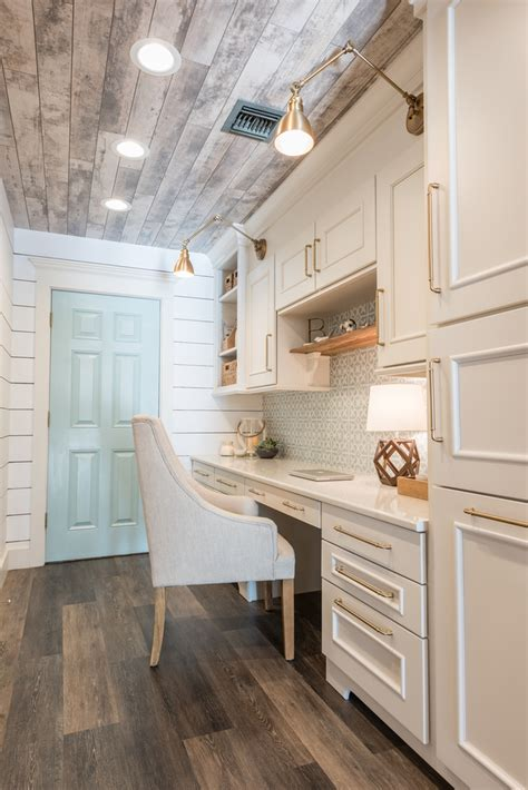 coastal farmhouse office