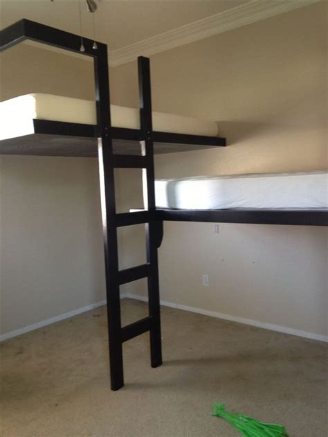 cool custom beds cool kids loft bed custom made loft bed for 7 yr old son top bed is a full size bottom bed is a