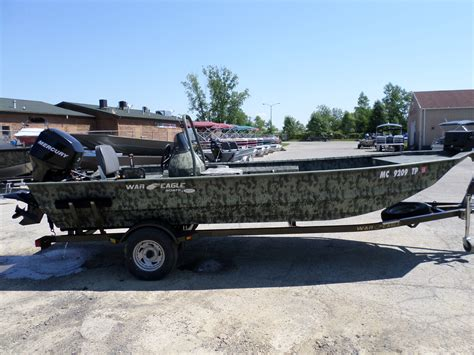 War Eagle Boats In Michigan by 2010 Used War Eagle 860 Ldsv Jon Boat For Sale 12 995