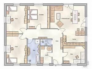 Bungalow Grundriss 130 Qm : bungalow grundrisse 160 qm ~ Orissabook.com Haus und Dekorationen