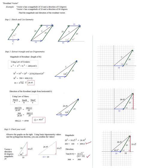 worksheet vector components worksheet grass fedjp