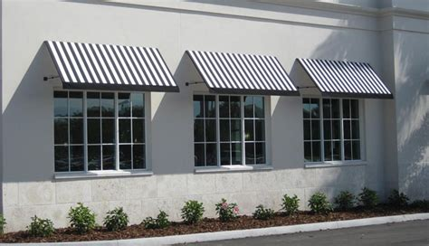 fixed awnings canopies commercial