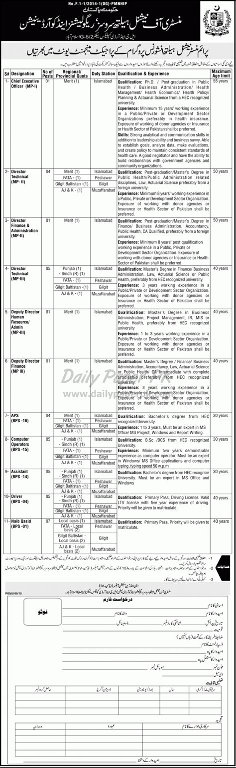Build a plan to suit your needs. Govt of Pakistan Job Opportunities in Prime Minister ...