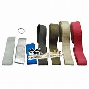 Fiberglass Automobile  Motorcycle Color 10m Exhaust Wrap