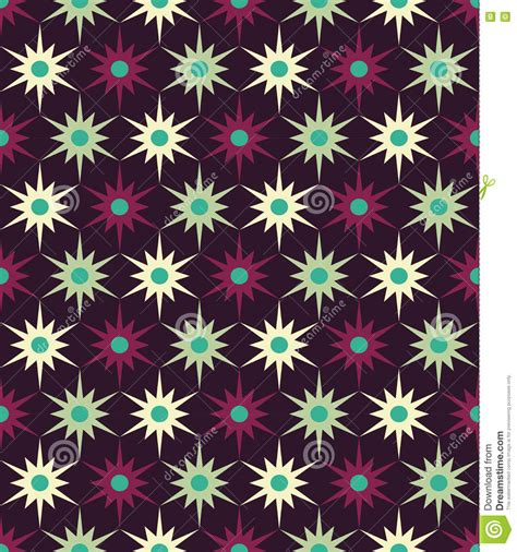 vector modern seamless colorful geometry floral pattern