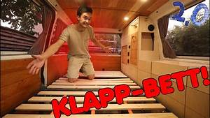 Wohnmobil Innenausbau Holz : praktisches bett f r meinen vw bus selber bauen ~ Jslefanu.com Haus und Dekorationen